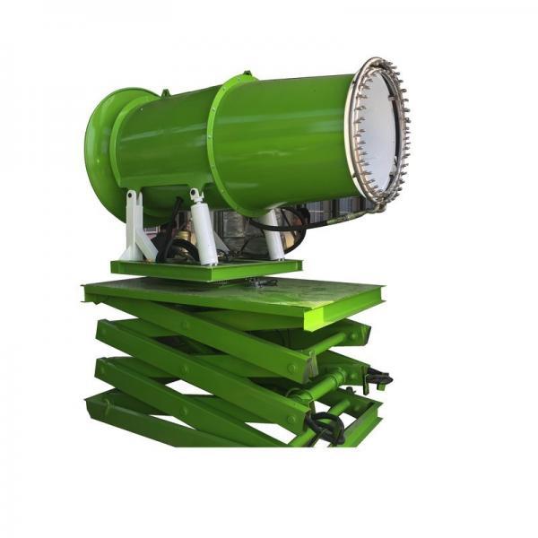 60m Manual Dust Spray Machine Industrial Water Mist Cannon